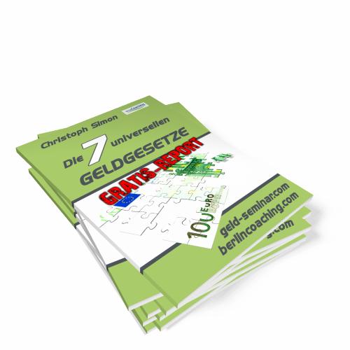 Finanzielle Freiheit mit EFT Finanzcoaching Report